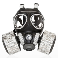 Gas Masks as High End Fashion Art