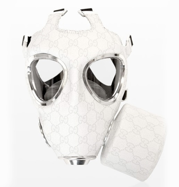Gas Masks as High End Fashion Art (3/6)