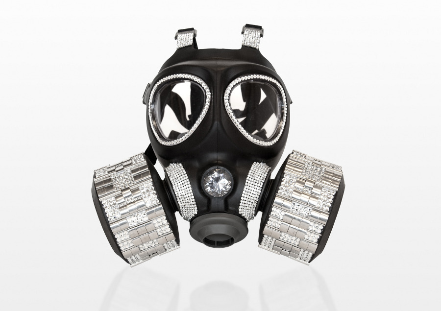 Gas Masks as High End Fashion Art (6/6)