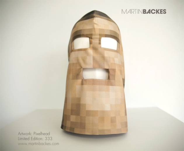 Martin Backes  limited edition Pixelhead Mask